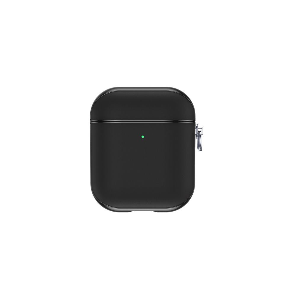 airpods case leather snap gen 12 black