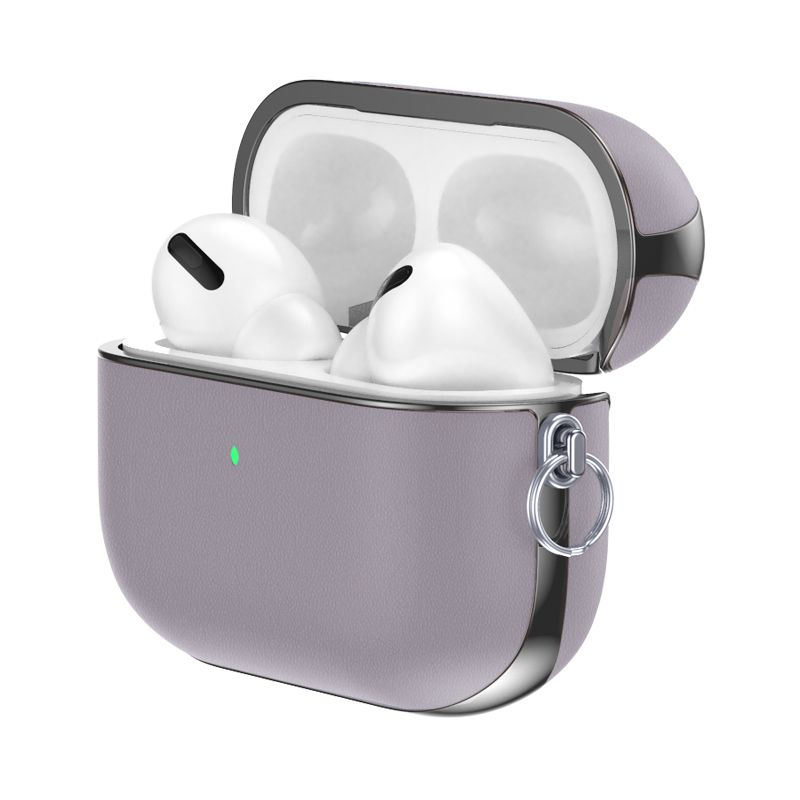 airpods hoesje snap pro paars