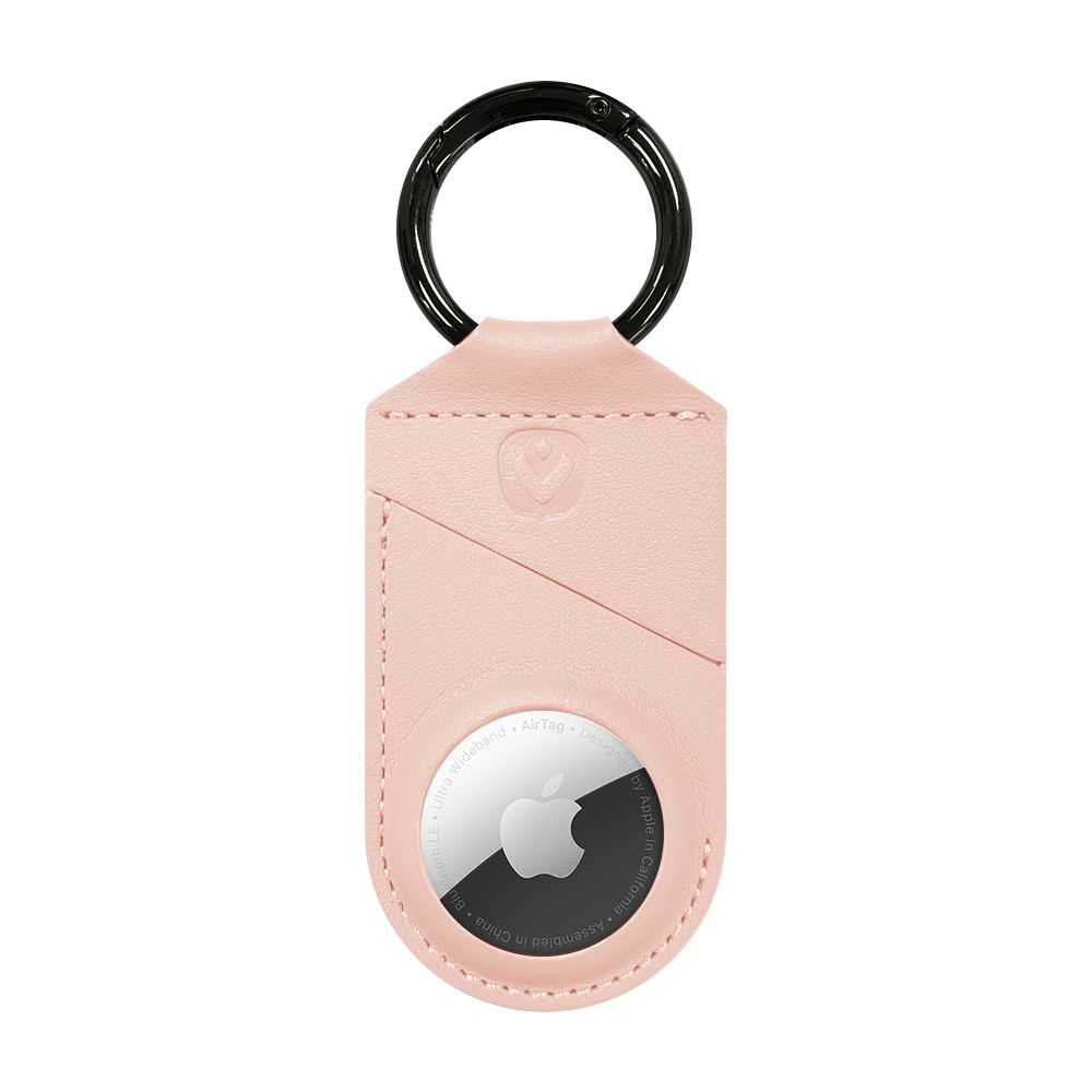 airtag case snap pink