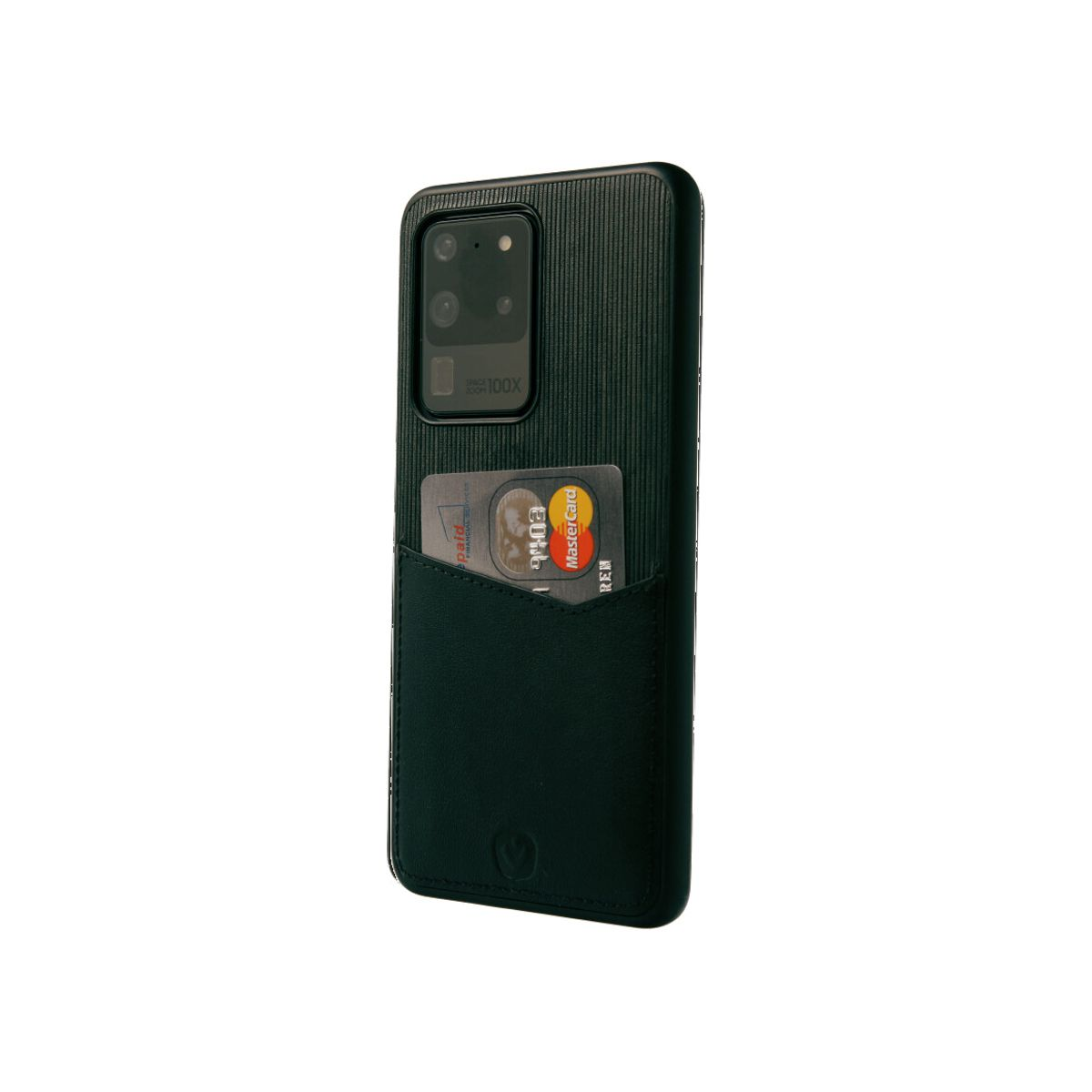 back cover black card slot galaxy s20 ultra
