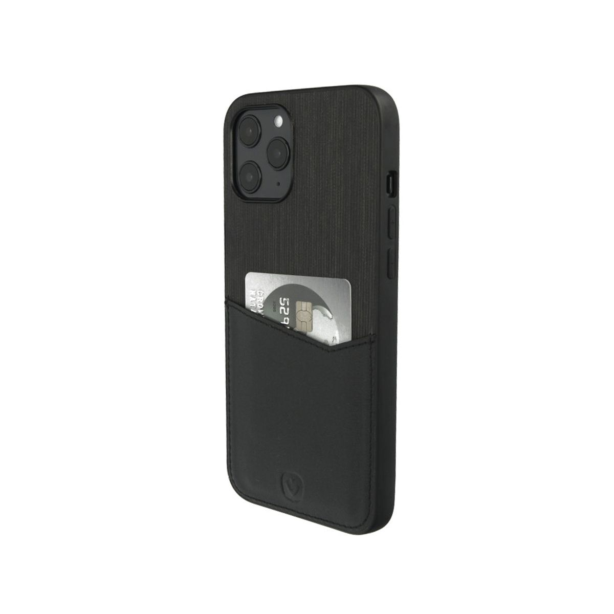 back cover black card slot iphone 12 pro max