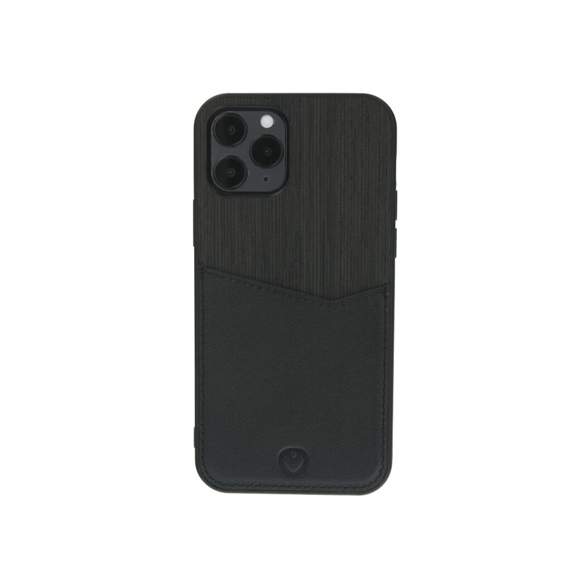 back cover card slot schwarz fur das iphone 12 12 pro