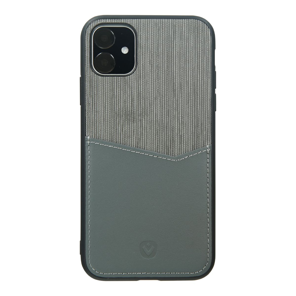 back cover grijs card slot iphone 11