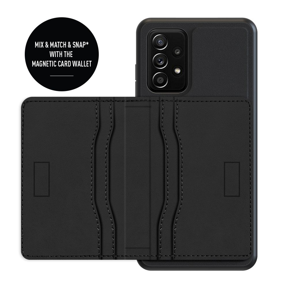 back cover snap leather black samsung galaxy a32 5g
