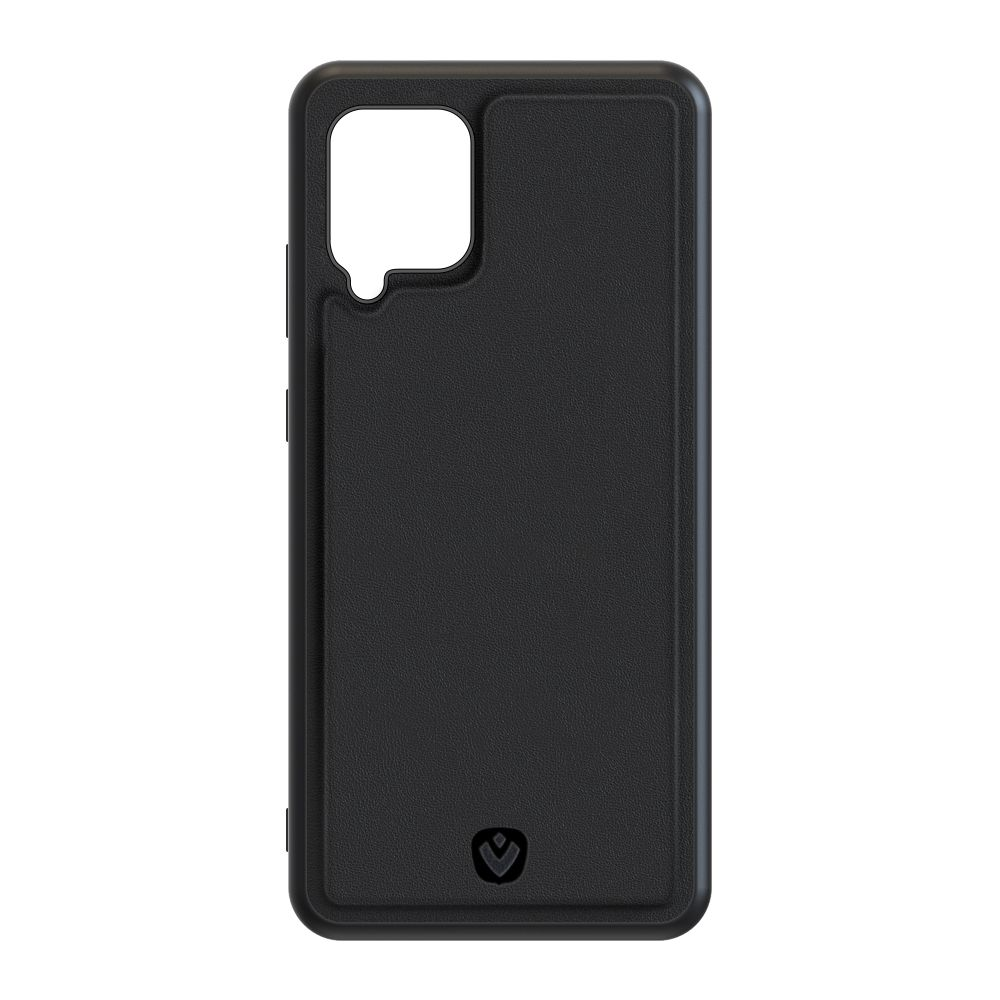 back cover snap leather black samsung galaxy a42