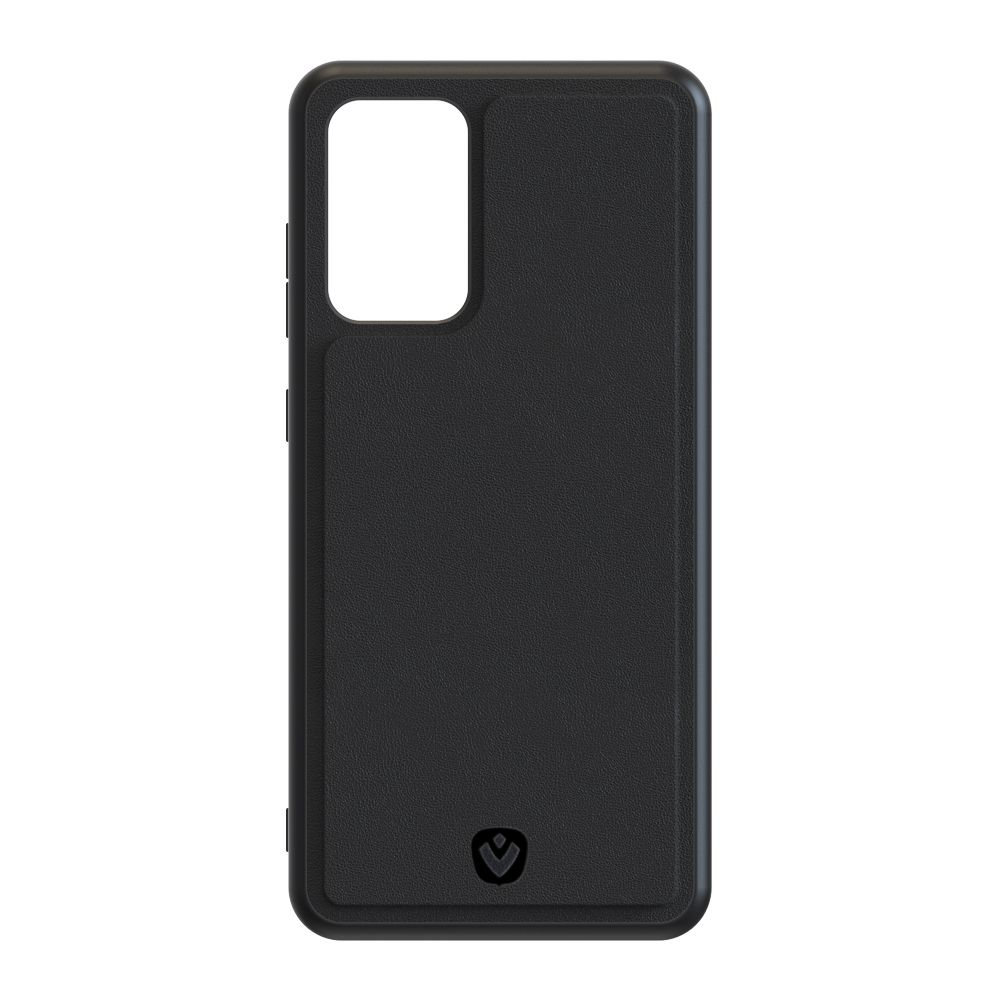 back cover snap leather black samsung galaxy a525ga52s