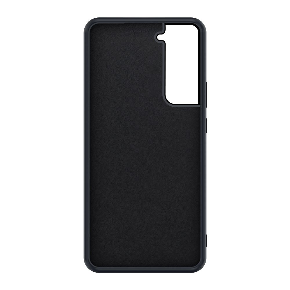 back cover snap leather black samsung galaxy s21
