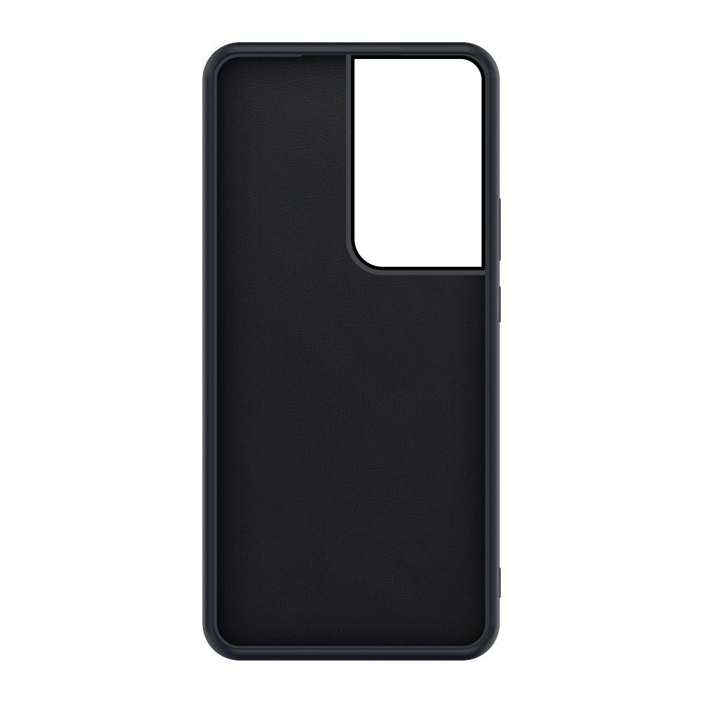 back cover snap leather black samsung galaxy s21 ultra
