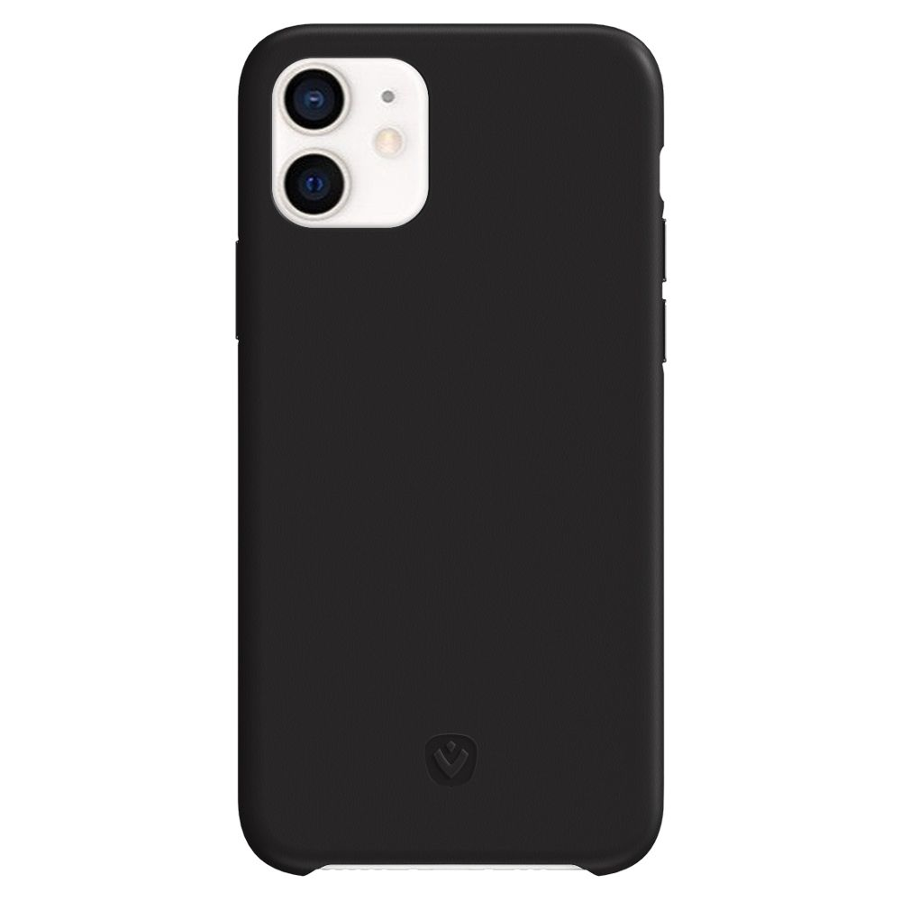 back cover snap luxe leather black iphone 11