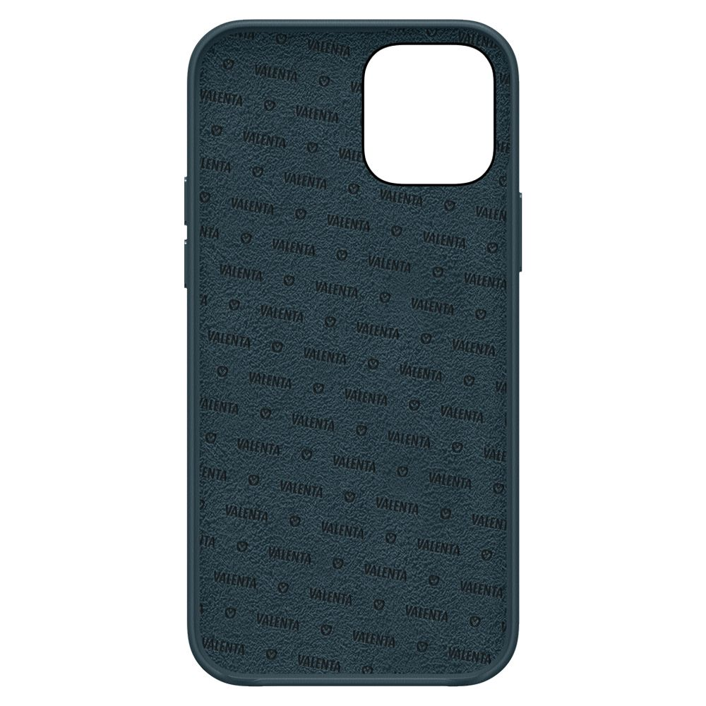 back cover snap luxe leer blauw apple iphone 12 pro max