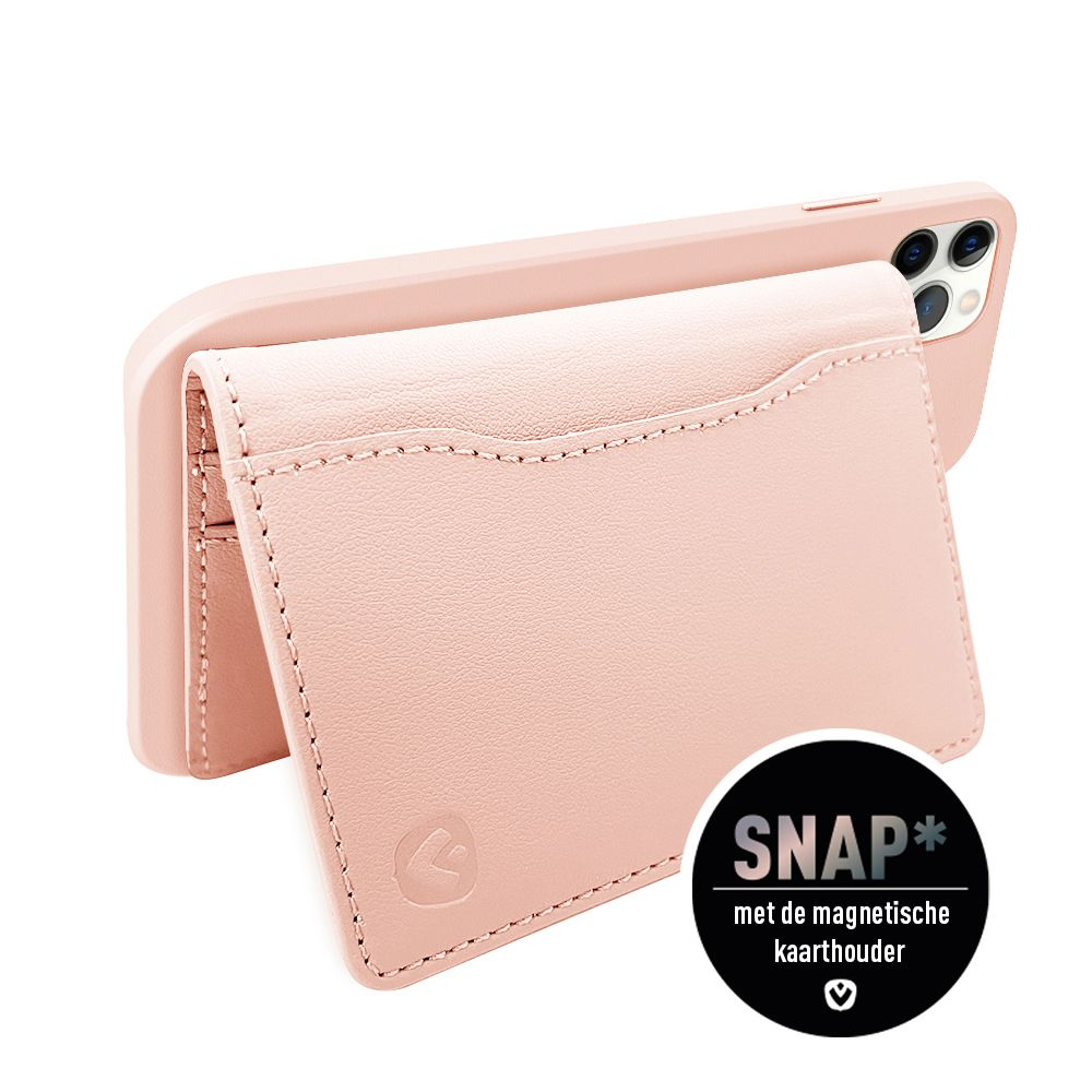 back cover snap luxe roze apple iphone 12 pro max