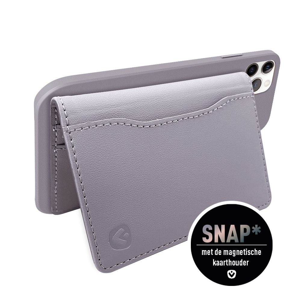 back cover snap luxe purple iphone 12 12 pro