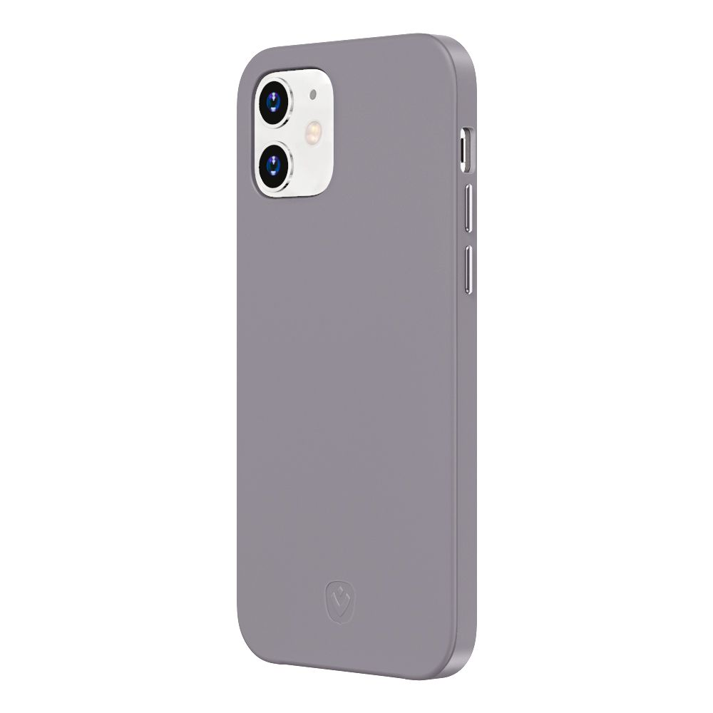 back cover snap luxe purple iphone 12 mini