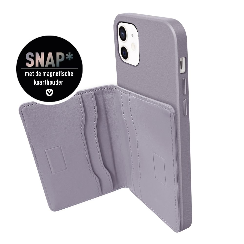 back cover snap luxe violett fr iphone 12 mini