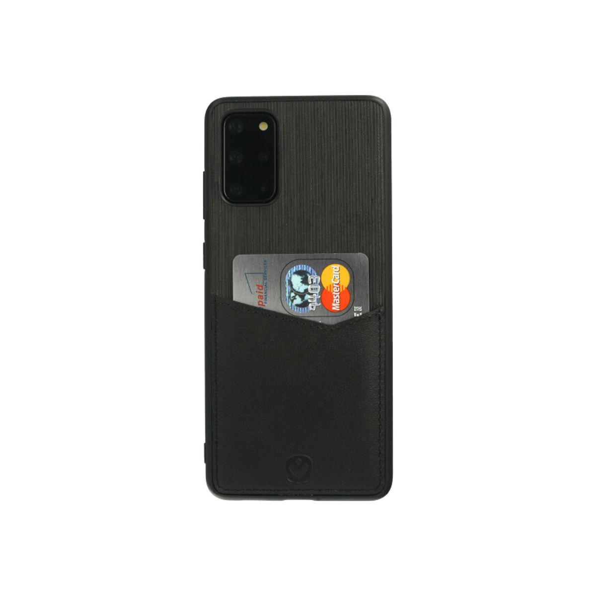 back cover zwart card slot galaxy s20 plus
