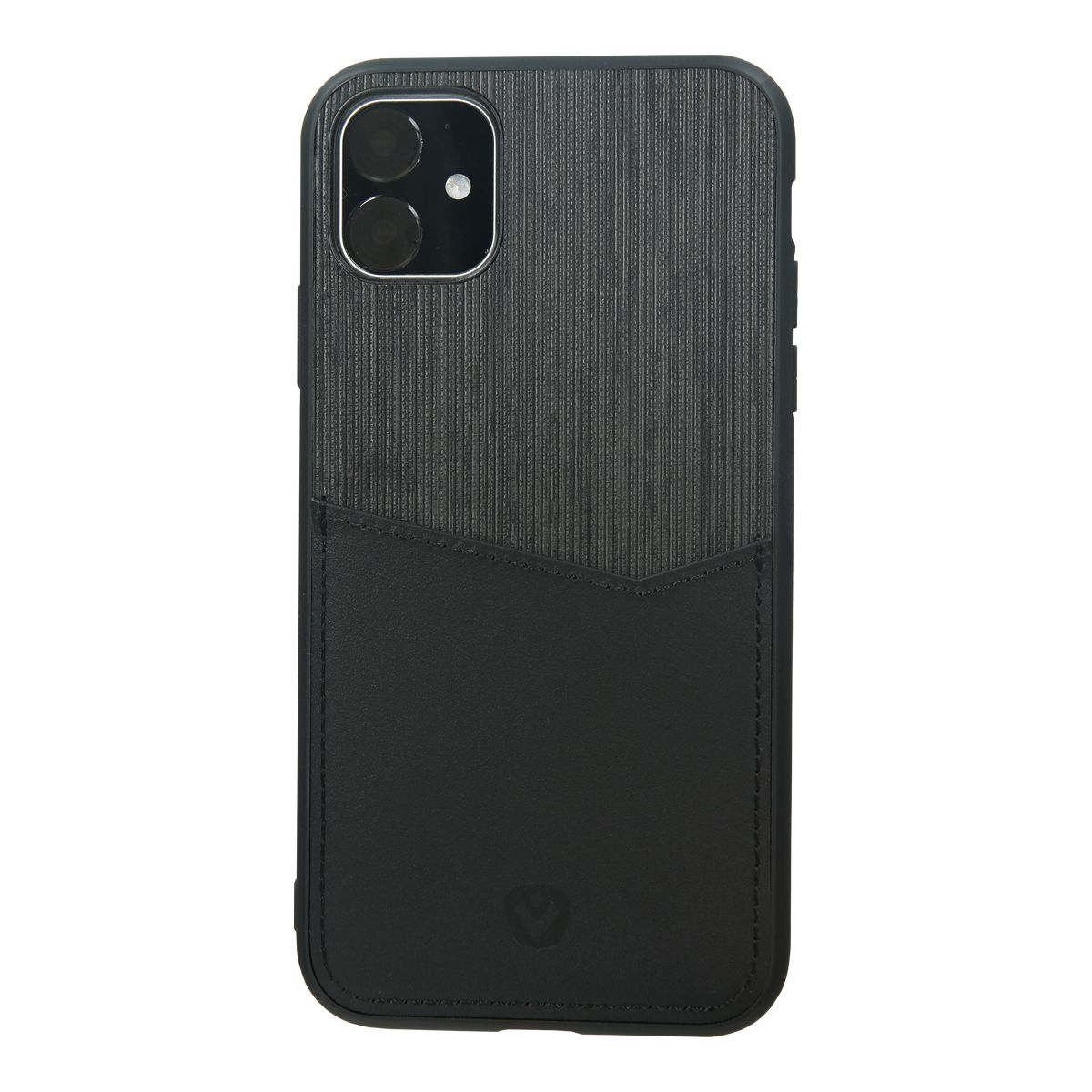 back cover zwart card slot iphone 11