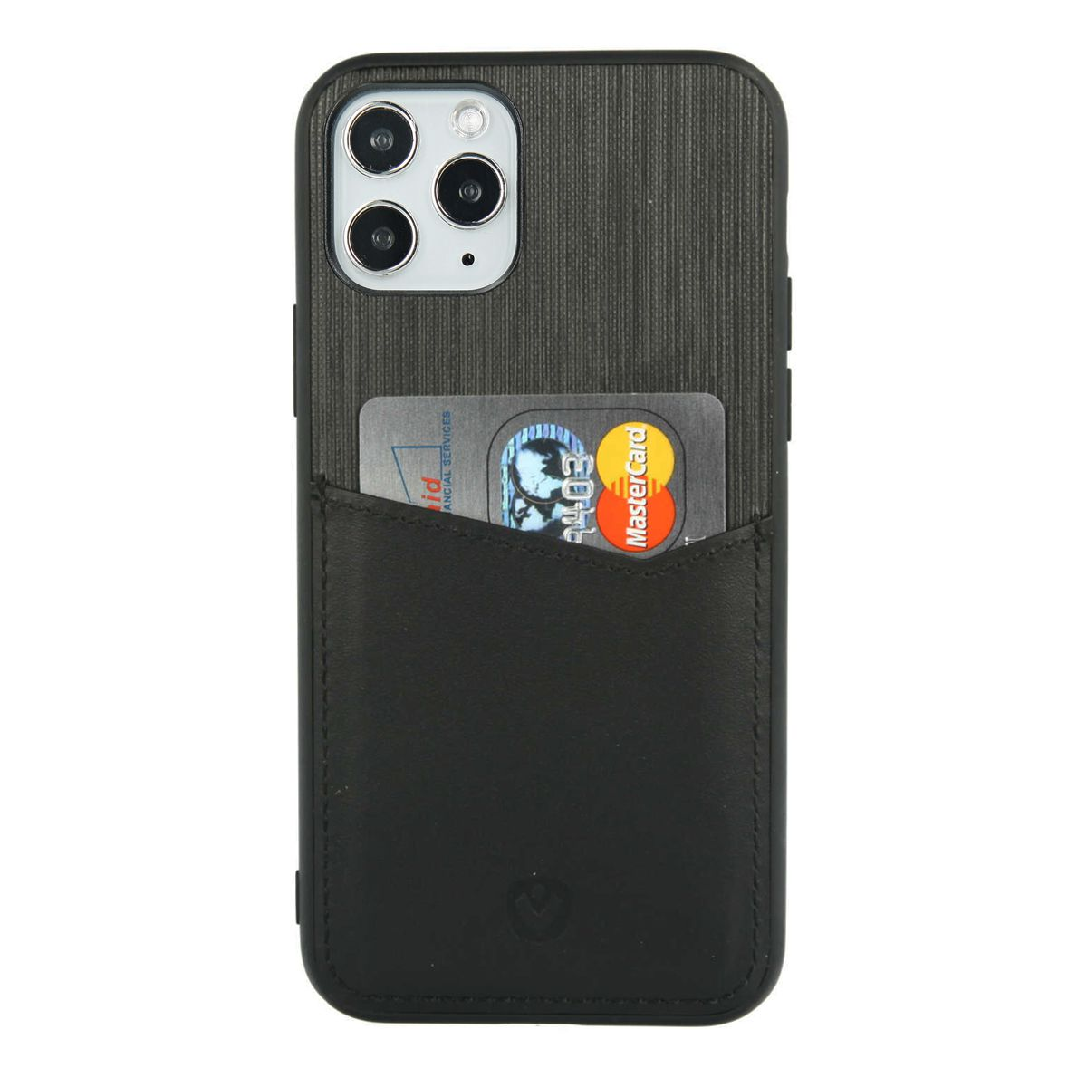 back cover zwart card slot iphone 11 pro max