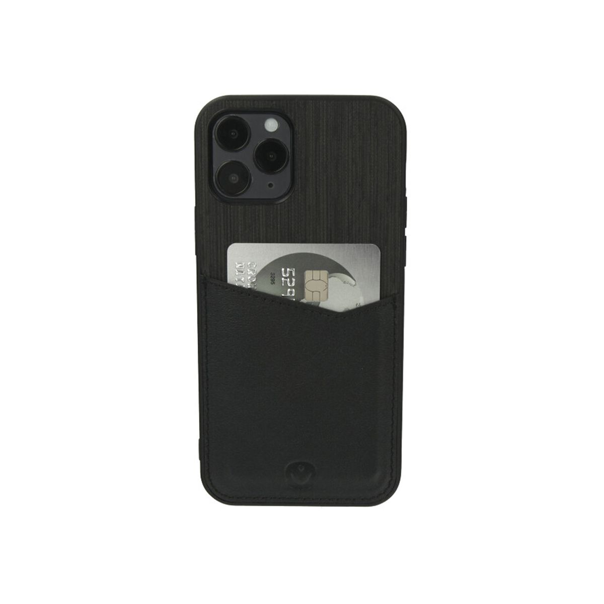 back cover zwart card slot iphone 12 12 pro
