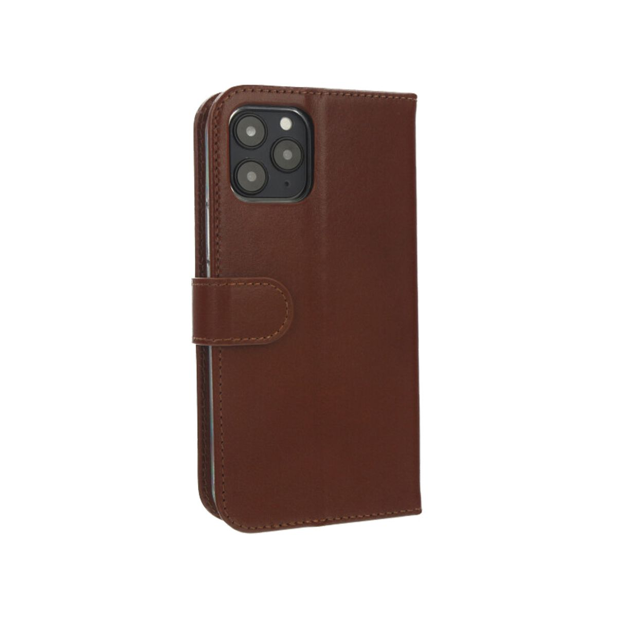 book case classic braun fur das iphone 12 pro max