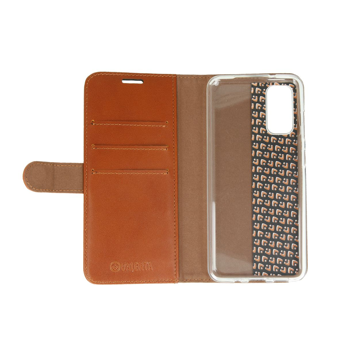 book case classic brown samsung galaxy s20