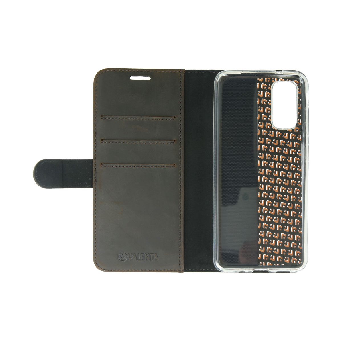 book case classic vintage brown samsung galaxy s20