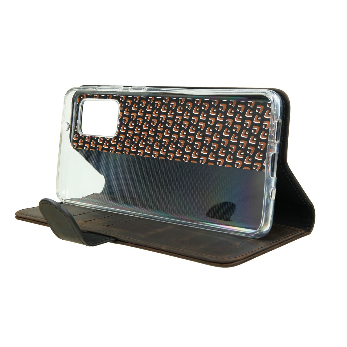 book case classic vintage brown samsung galaxy s20 plus