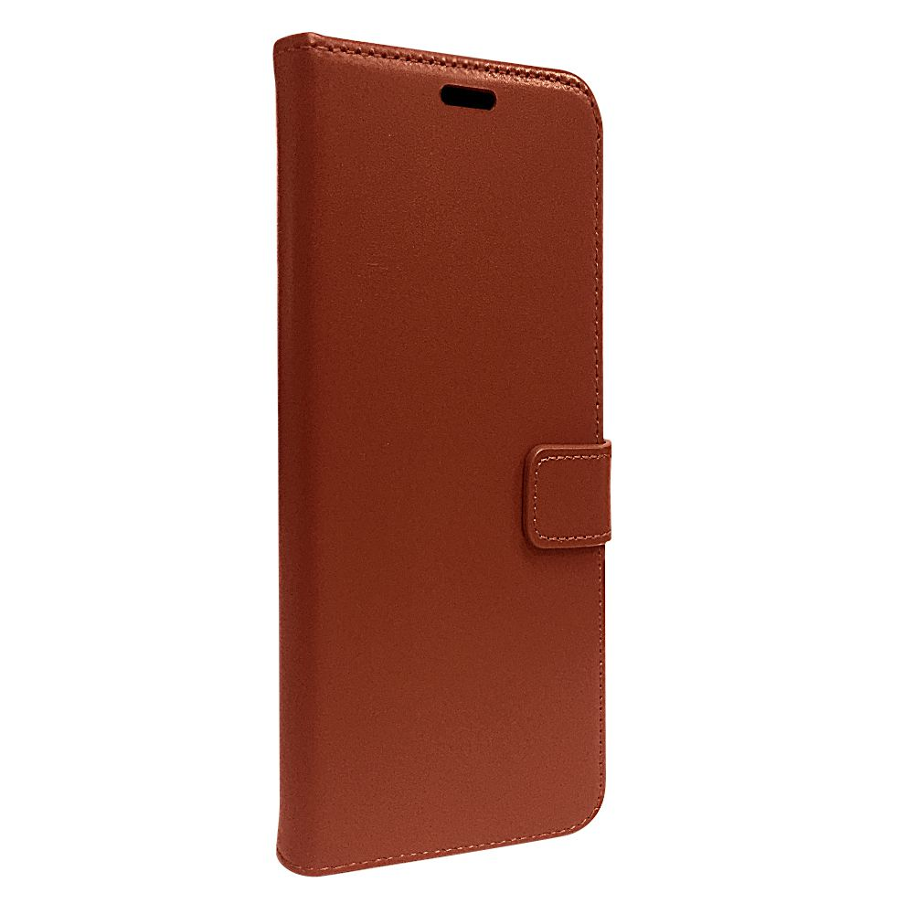 book case leather gel skin brown apple iphone 12 12 pro
