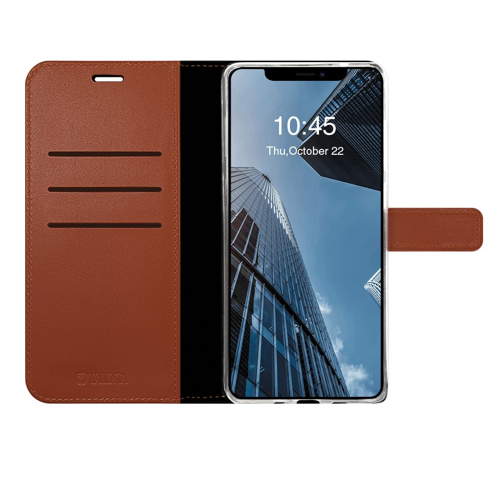 book case leather gel skin brown apple iphone 12 pro max