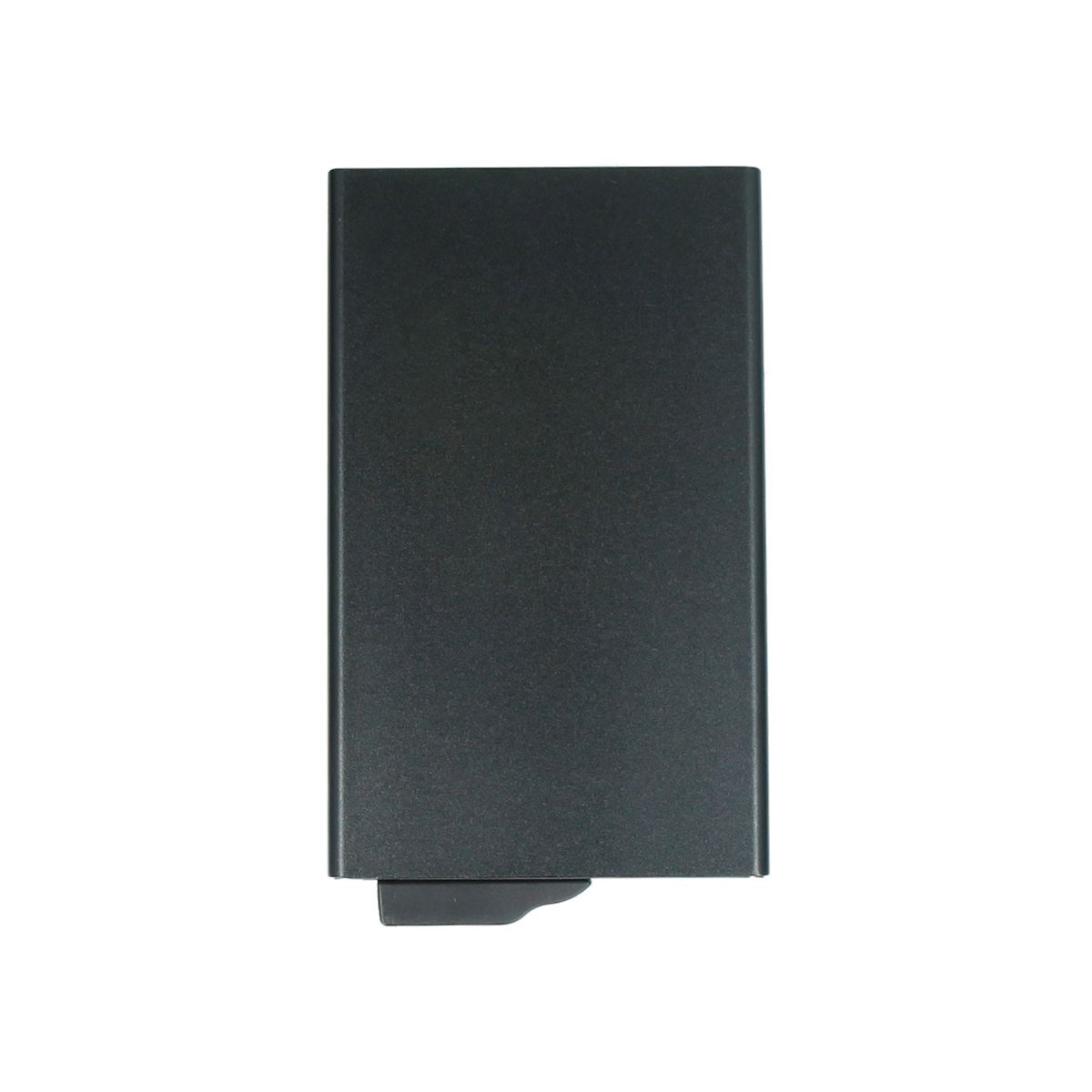 card case aluminium plus black