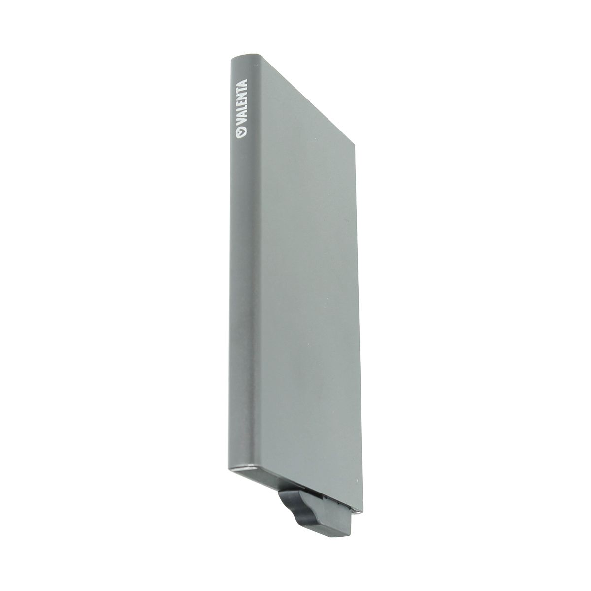 card case aluminium plus grey