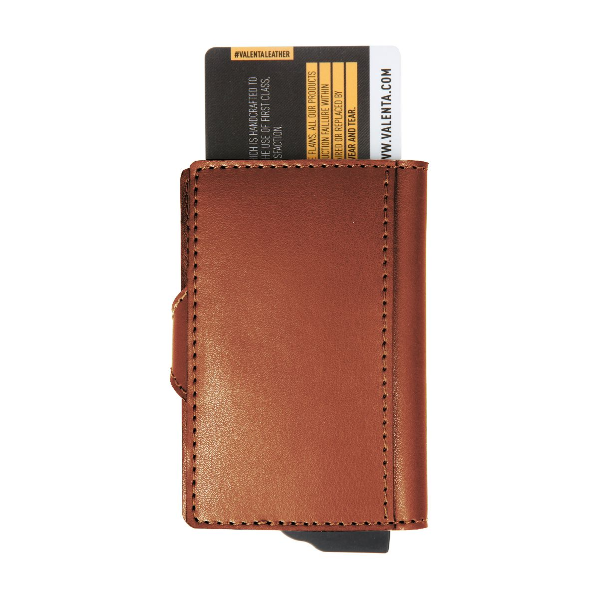 card case plus wallet brown