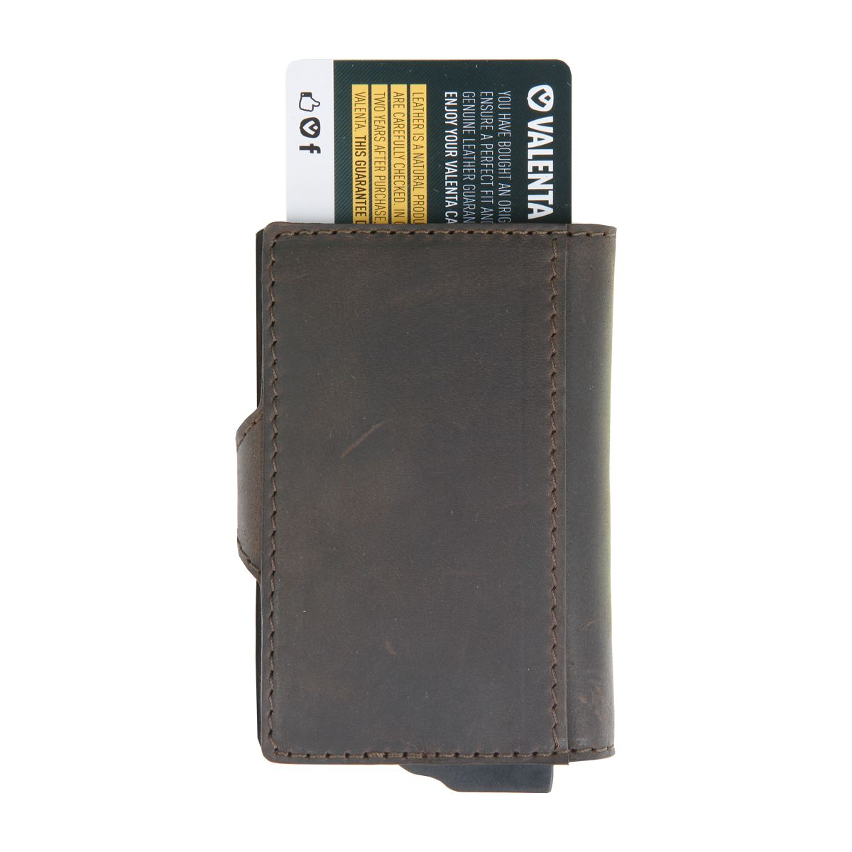 card case plus wallet vintage brown
