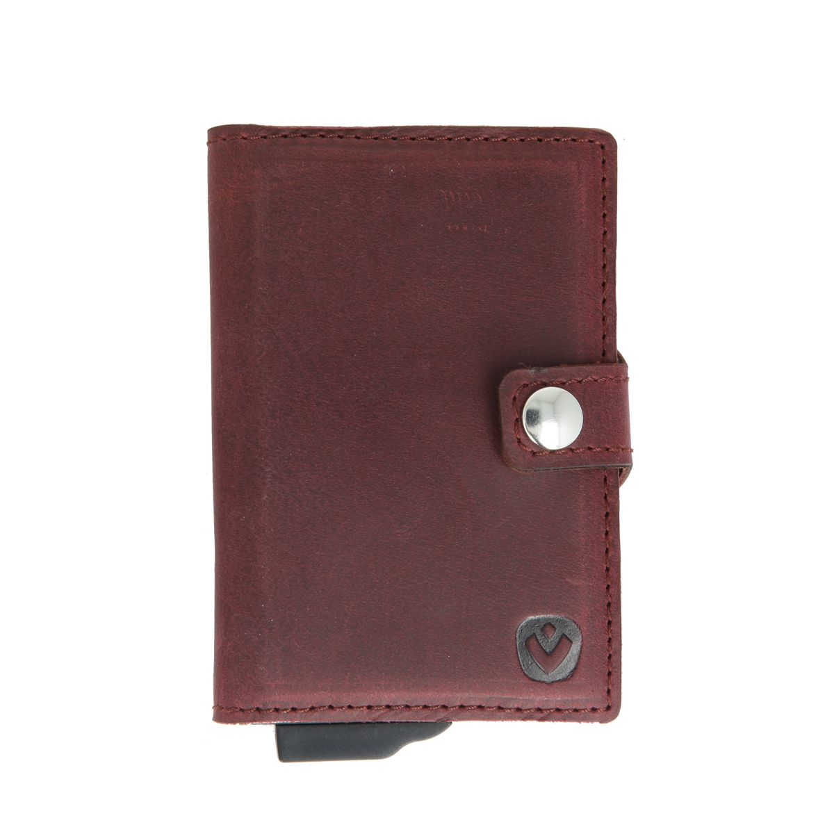 card case plus wallet vintage burgundy