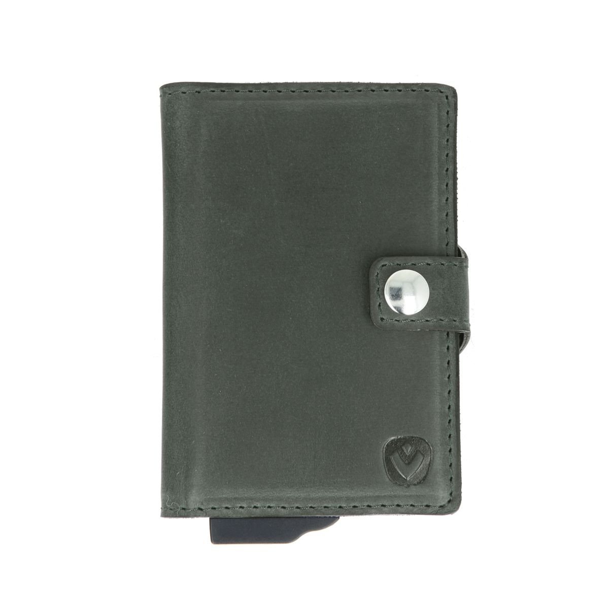 card case plus wallet vintage green