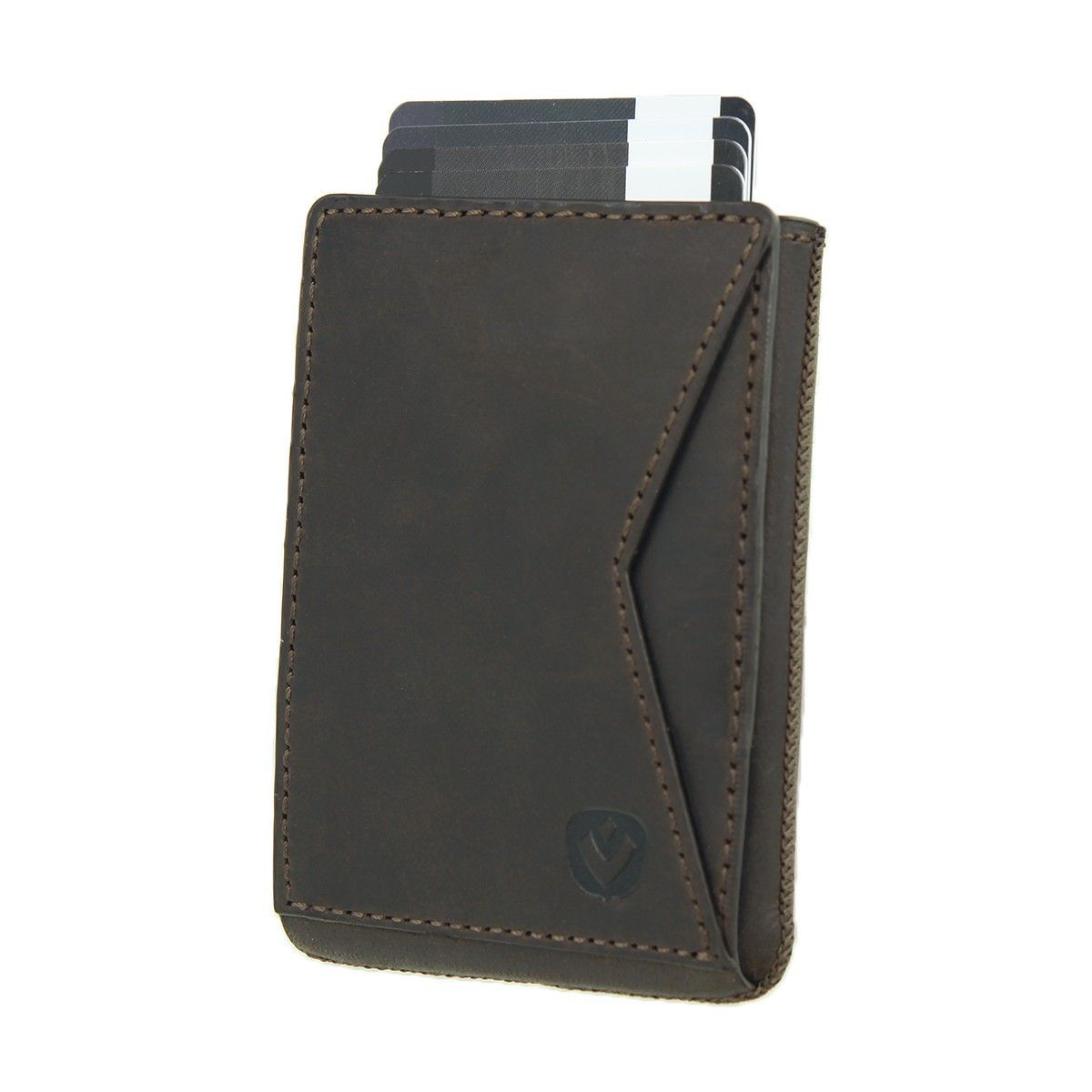 card case pocket premium vintage brown