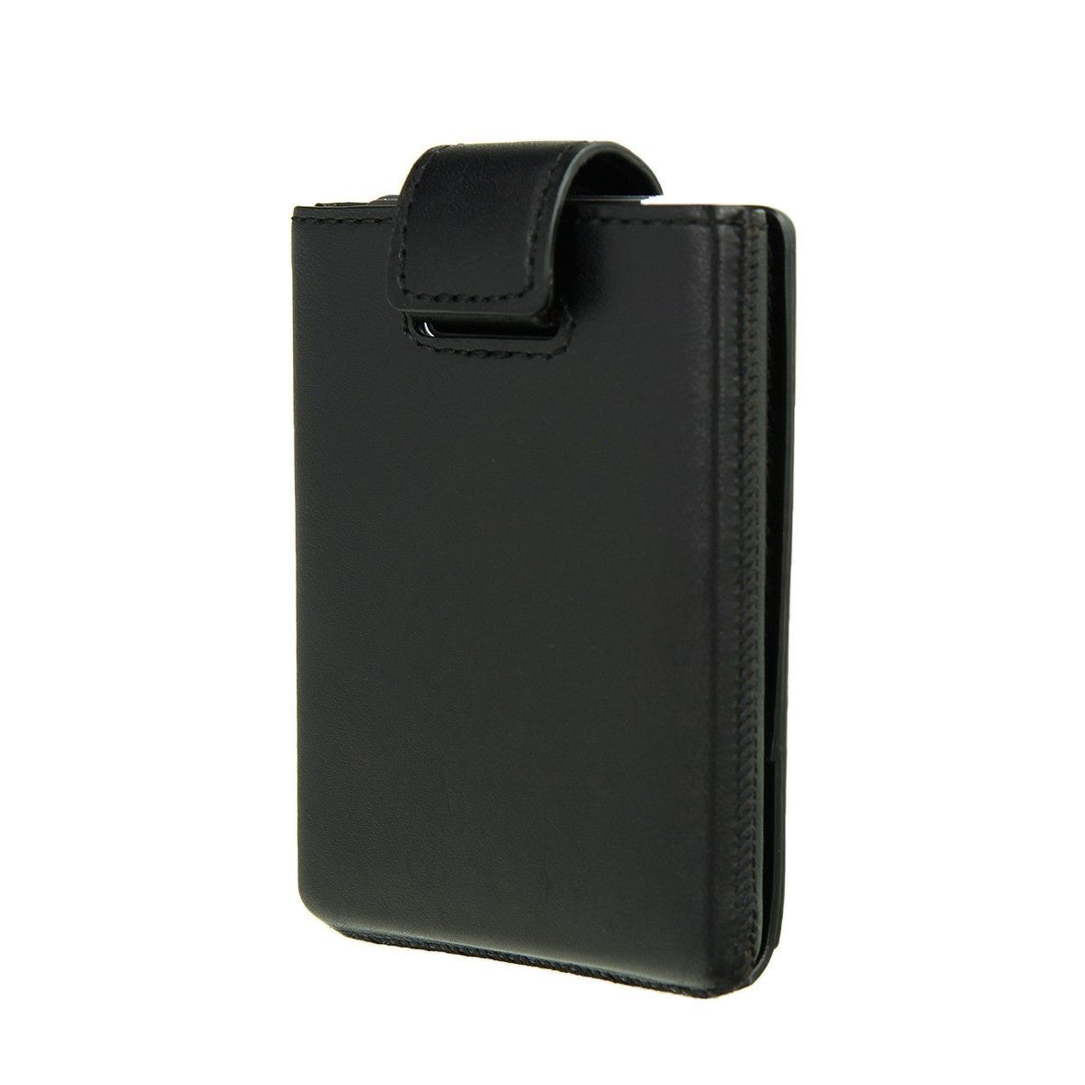 card case pocket premium zwart