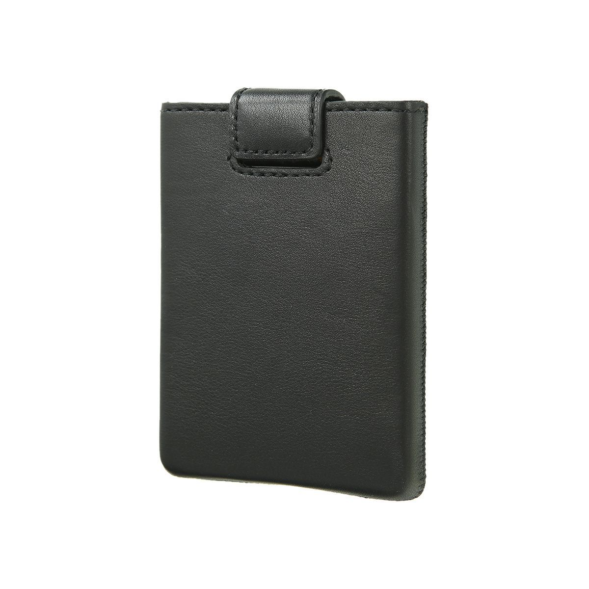 card case pocket zwart