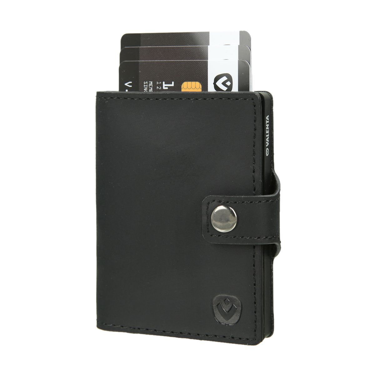 card case wallet vintage black