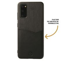 Card Slot Back Cover Schwarz fur das Samsung S20