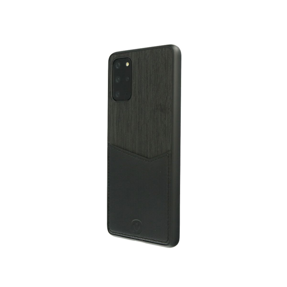 card slot back cover schwarz fur das samsung s20 plus