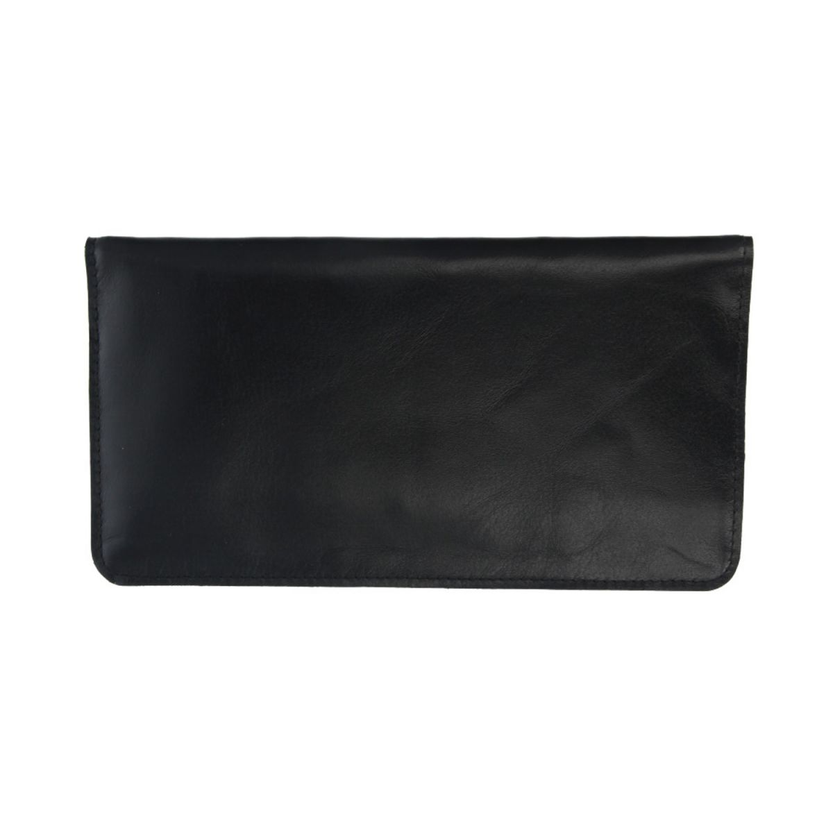 faraday phone pouch leather black