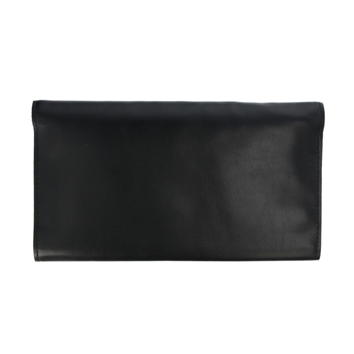 faraday phone wallet luxe leather black