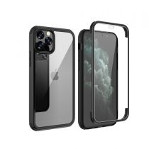 Full Cover Tempered Glass Bumper Zwart iPhone 11