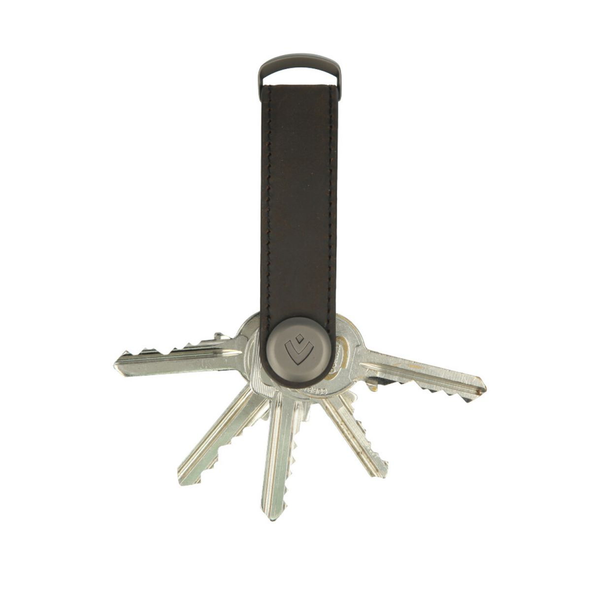 key organizer vintage brown