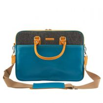 Laptoptasche Raw Ocean Blue - 15,6 Zoll