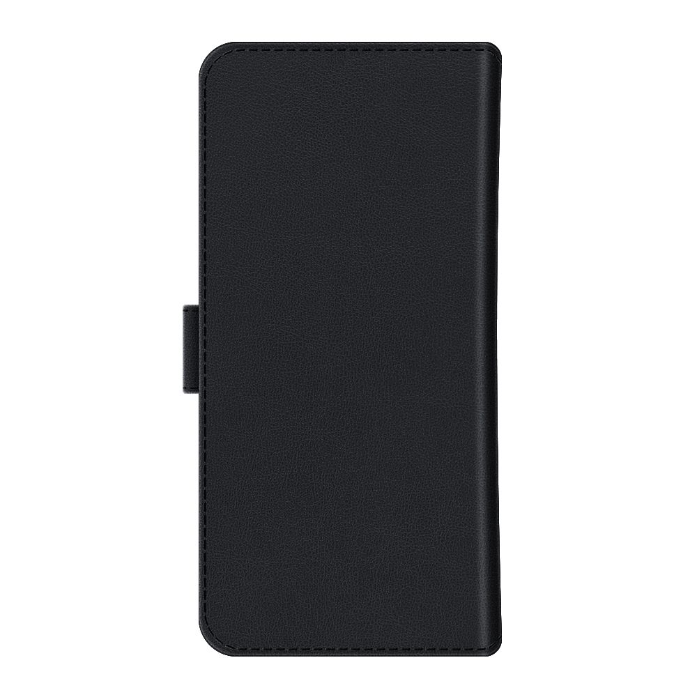 magnetic book cover snap leather universal large black