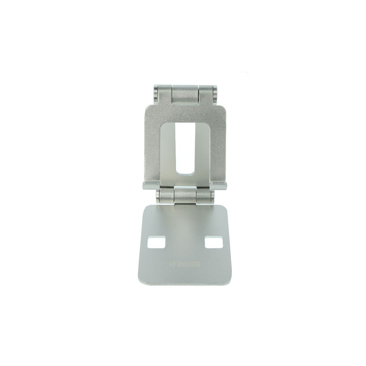 phone holder foldable alu silver