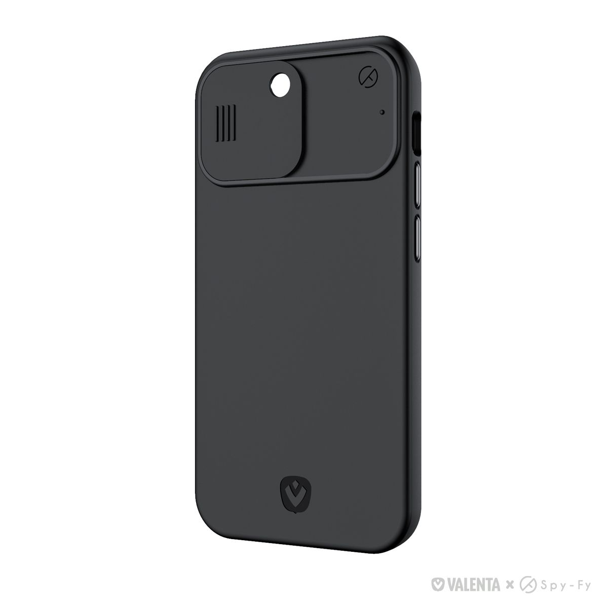 valenta x spyfy privacy cover black iphone 12 pro with camera covers front rear