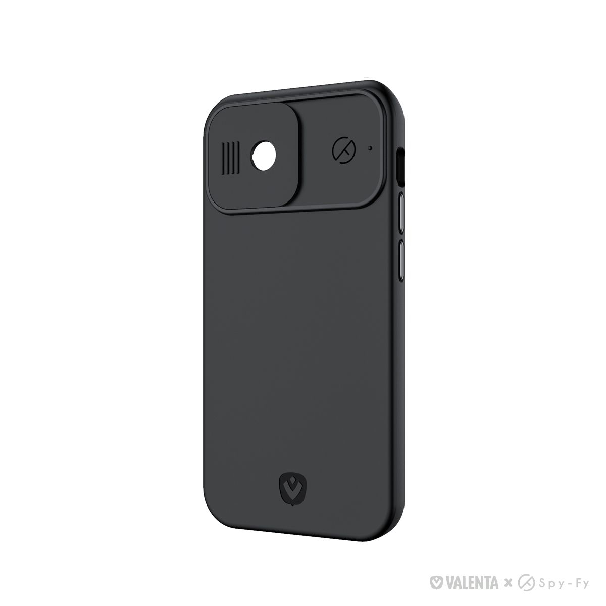 valenta x spyfy privacy cover black iphone 12 with camera covers front rear