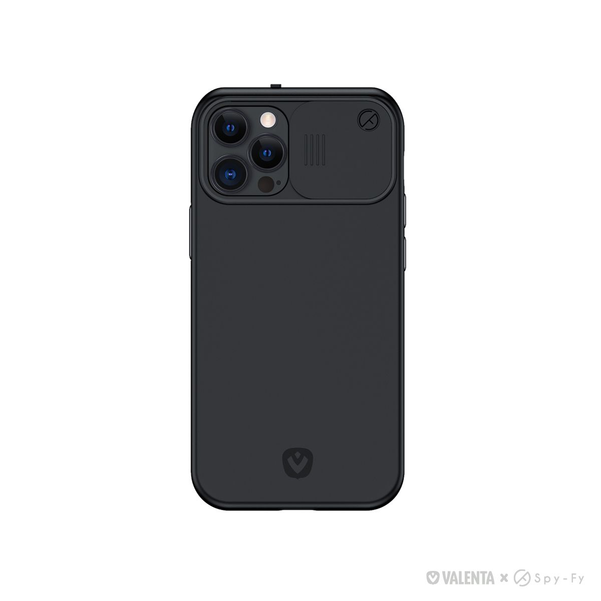 valenta x spyfy privacy cover black iphone iphone 12 pro max